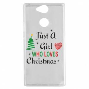 Etui na Sony Xperia XA2 Just a girl who love Christmas