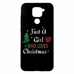 Etui na Xiaomi Redmi Note 9/Redmi 10X Just a girl who love Christmas