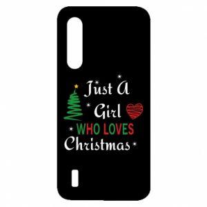 Etui na Xiaomi Mi9 Lite Just a girl who love Christmas
