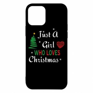 Etui na iPhone 12/12 Pro Just a girl who love Christmas