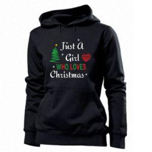 Bluza damska Just a girl who love Christmas