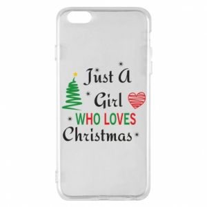 Etui na iPhone 6 Plus/6S Plus Just a girl who love Christmas