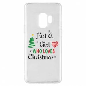 Etui na Samsung S9 Just a girl who love Christmas