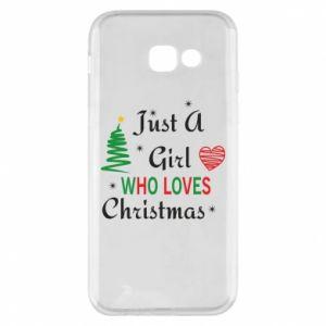 Etui na Samsung A5 2017 Just a girl who love Christmas