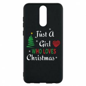 Etui na Huawei Mate 10 Lite Just a girl who love Christmas