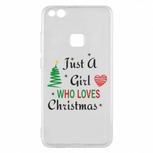 Etui na Huawei P10 Lite Just a girl who love Christmas