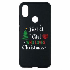 Etui na Xiaomi Mi A2 Just a girl who love Christmas
