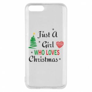 Etui na Xiaomi Mi6 Just a girl who love Christmas
