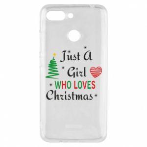 Etui na Xiaomi Redmi 6 Just a girl who love Christmas