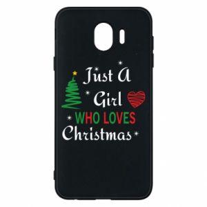 Etui na Samsung J4 Just a girl who love Christmas