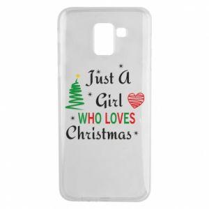 Etui na Samsung J6 Just a girl who love Christmas