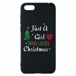 Etui na Huawei Y5 2018 Just a girl who love Christmas
