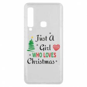 Etui na Samsung A9 2018 Just a girl who love Christmas