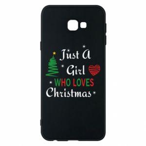 Etui na Samsung J4 Plus 2018 Just a girl who love Christmas