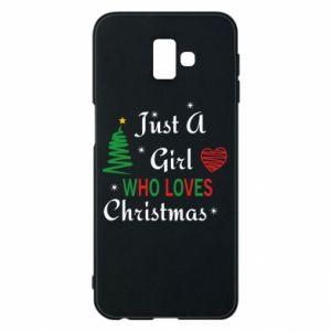 Etui na Samsung J6 Plus 2018 Just a girl who love Christmas