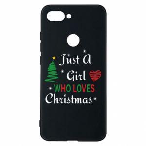Etui na Xiaomi Mi8 Lite Just a girl who love Christmas