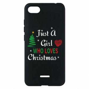 Etui na Xiaomi Redmi 6A Just a girl who love Christmas