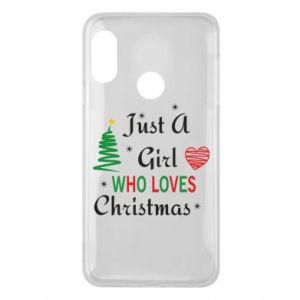 Etui na Mi A2 Lite Just a girl who love Christmas