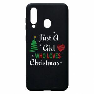 Etui na Samsung A60 Just a girl who love Christmas