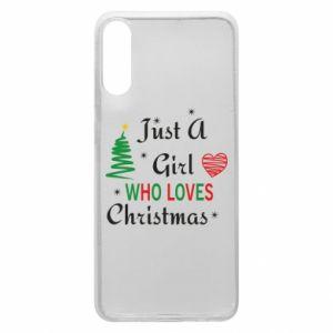 Etui na Samsung A70 Just a girl who love Christmas