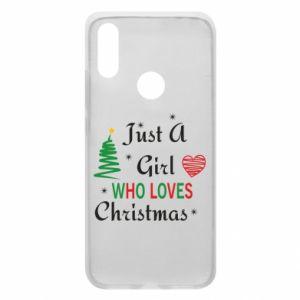 Etui na Xiaomi Redmi 7 Just a girl who love Christmas