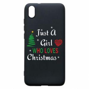 Etui na Xiaomi Redmi 7A Just a girl who love Christmas