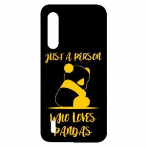 Etui na Xiaomi Mi9 Lite Just a person who loves pandas