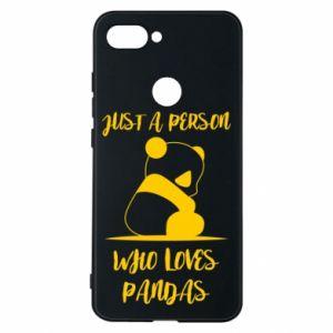 Etui na Xiaomi Mi8 Lite Just a person who loves pandas