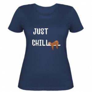 Damska koszulka Just chill