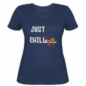 Women's t-shirt Just chill