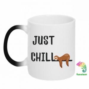 Kubek-kameleon Just chill