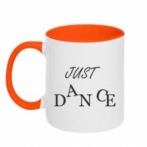 Kubek dwukolorowy Just dance