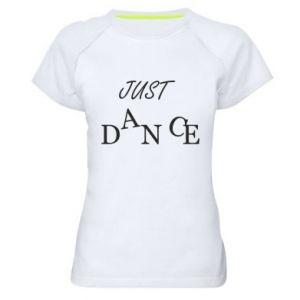 Koszulka sportowa damska Just dance