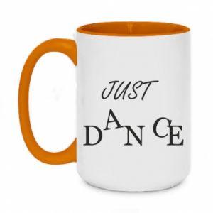 Kubek dwukolorowy 450ml Just dance