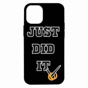 Etui na iPhone 12 Mini Just did it