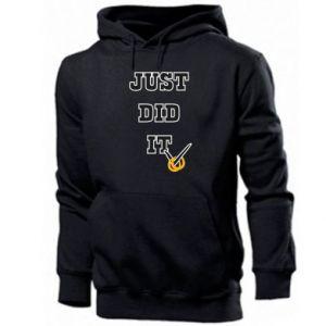 Men's hoodie Just did it