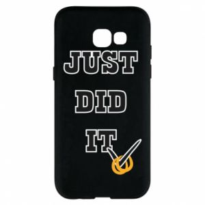 Phone case for Samsung A5 2017 Just did it - PrintSalon