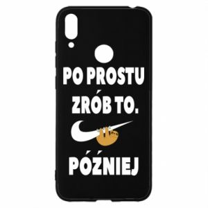Huawei Y7 2019 Case Just do it later
