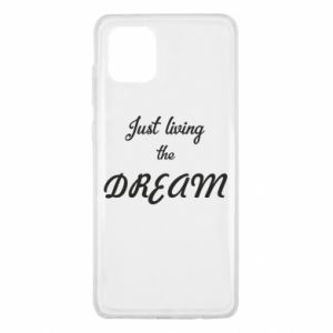 Etui na Samsung Note 10 Lite Just living the DREAM