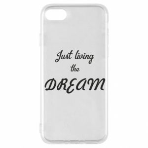 Etui na iPhone SE 2020 Just living the DREAM