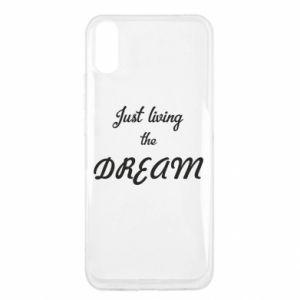 Etui na Xiaomi Redmi 9a Just living the DREAM