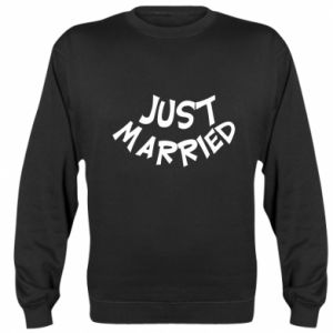 Bluza (raglan) Just married. Color