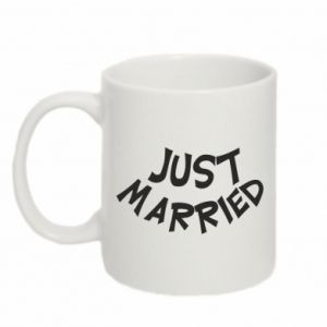 Kubek 330ml Just married. Color