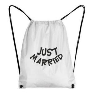 Plecak-worek Just married. Color