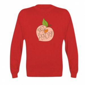 Bluza dziecięca Just peachy