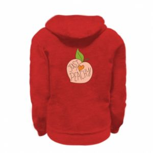 Bluza na zamek dziecięca Just peachy