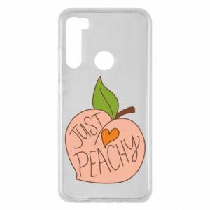 Etui na Xiaomi Redmi Note 8 Just peachy
