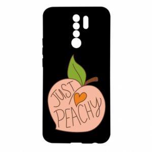 Etui na Xiaomi Redmi 9 Just peachy