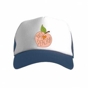 Czapka trucker dziecięca Just peachy