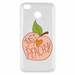 Etui na Xiaomi Redmi 4X Just peachy